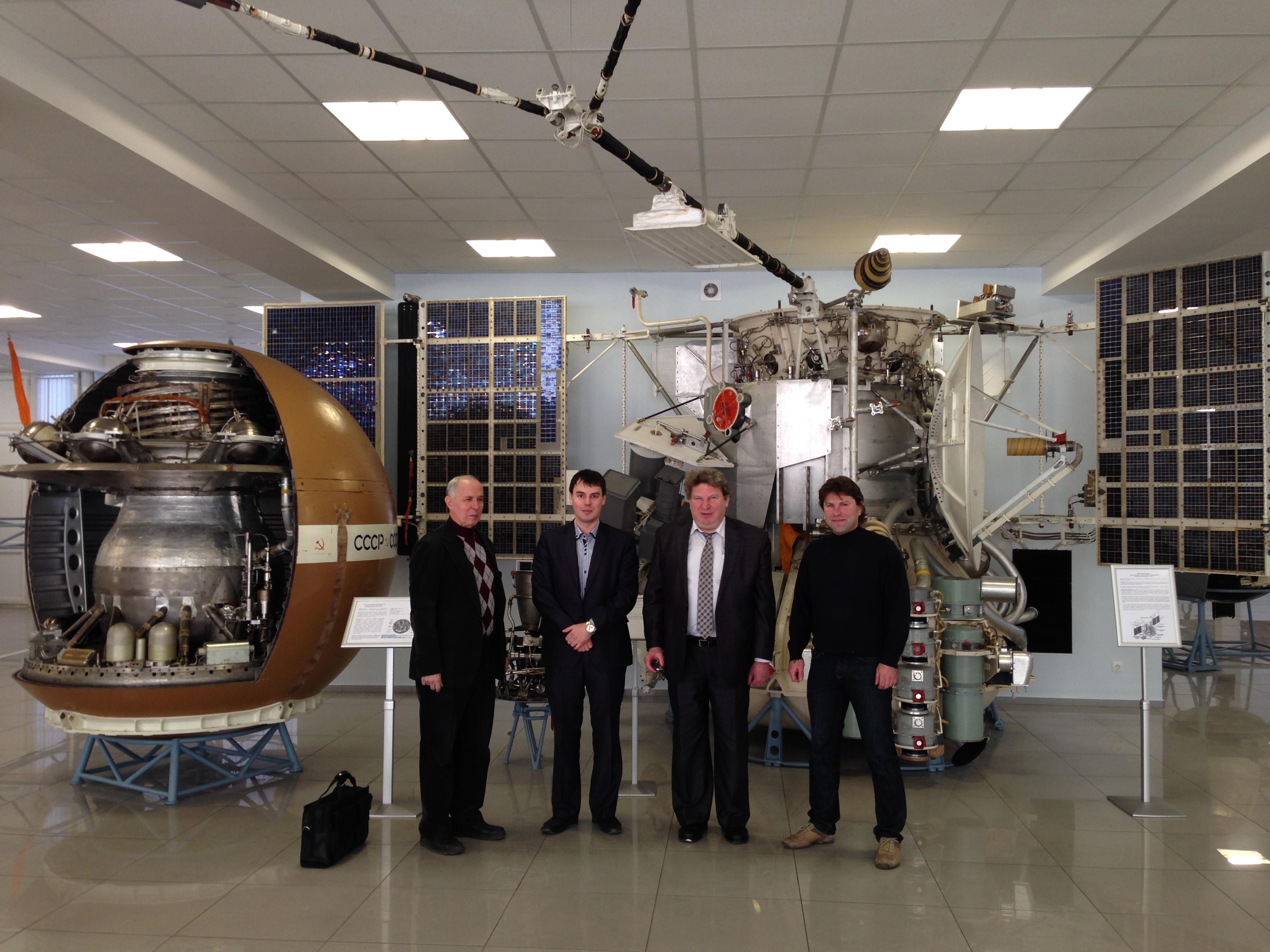 31 января 2014 года. Музей НПО-Л. XXXVIII чтения по космонавтике. Все вместе